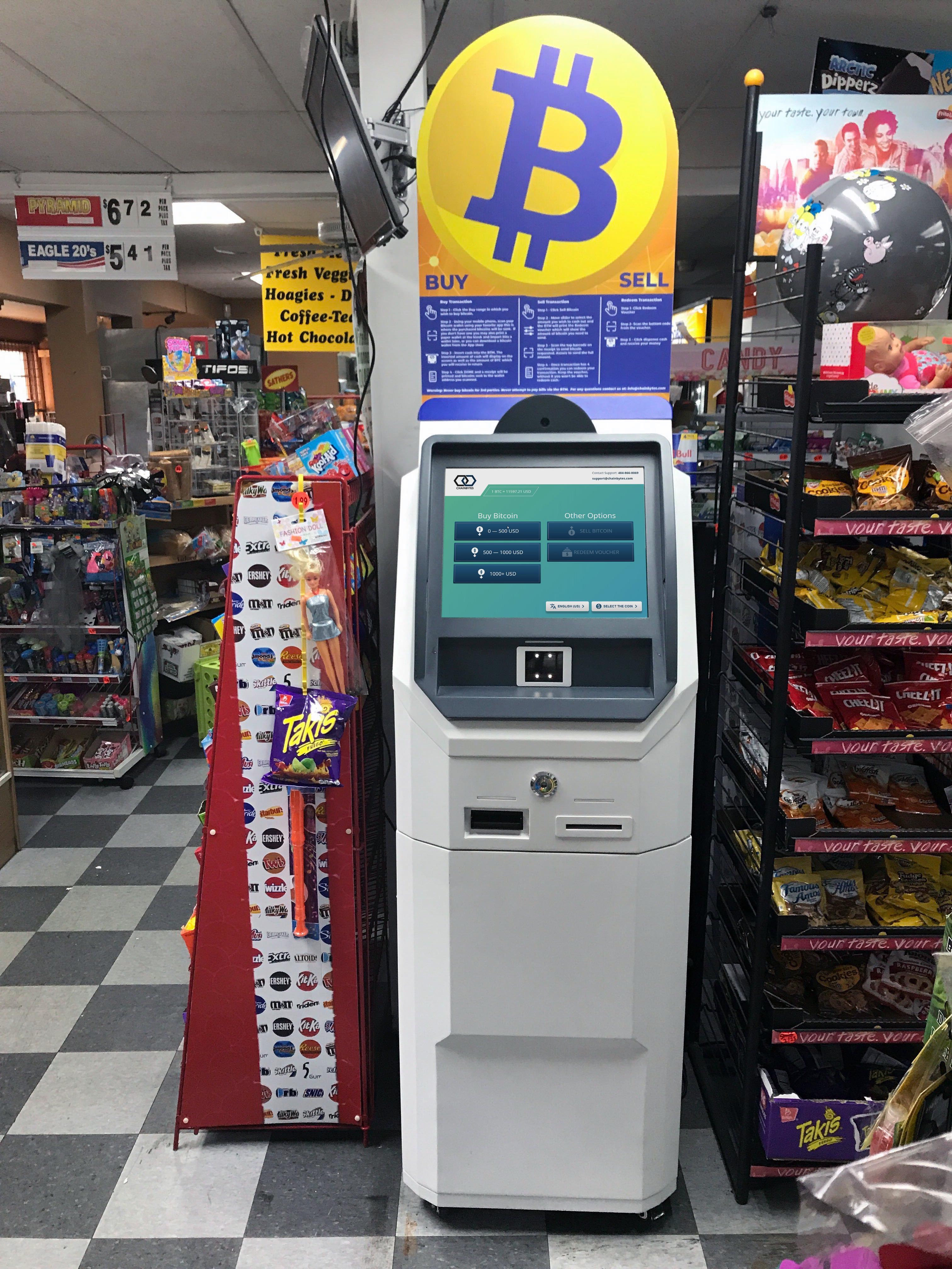 Bitcoin ATM i Eason for buying bitcoin