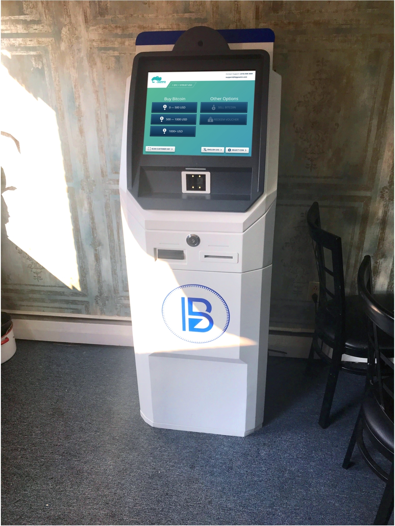 Bitcoin ATM Herrshey buy bitcon Satoshi Kiosks