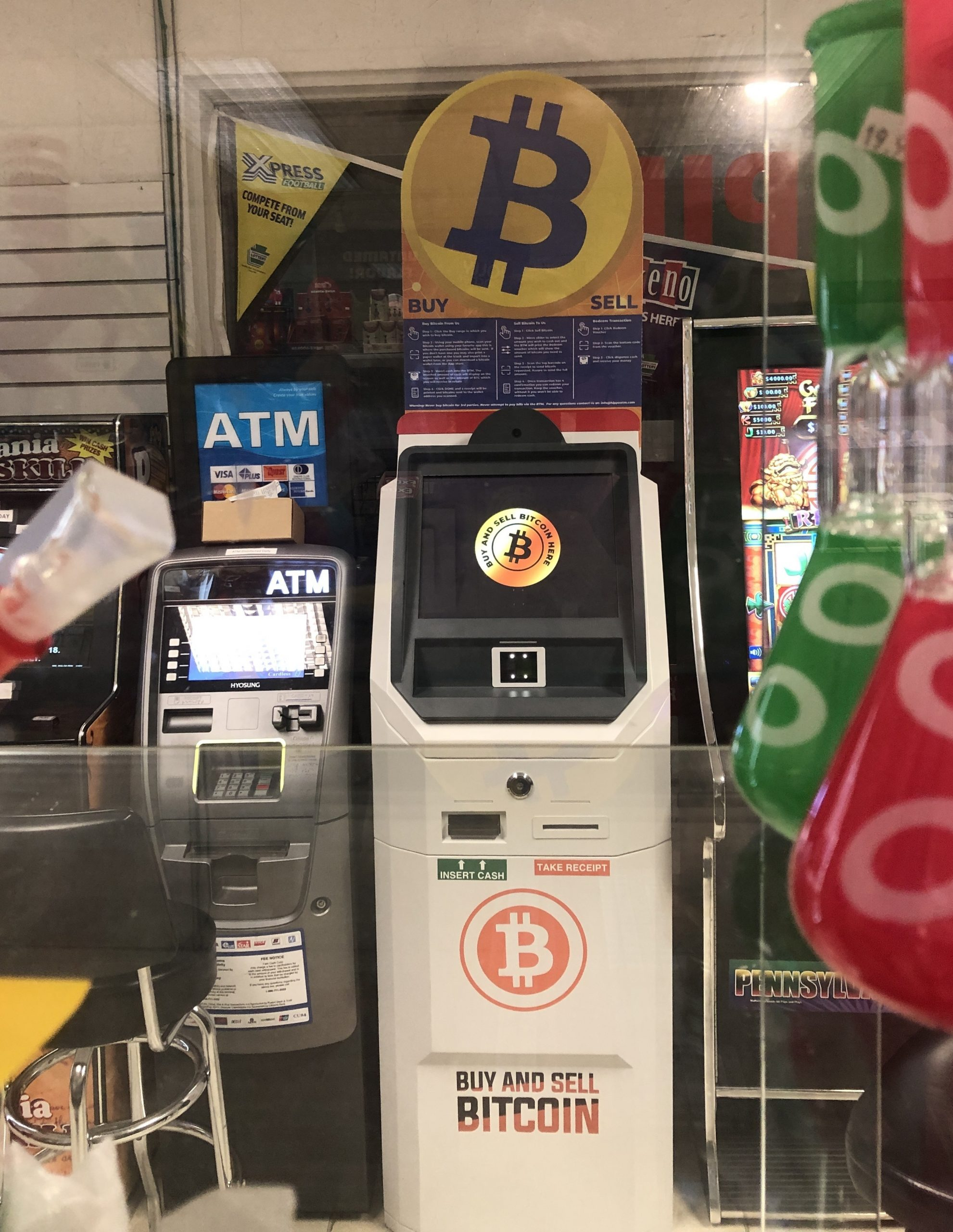 Ephrata Bitcoin ATM by Hippo Kiosks