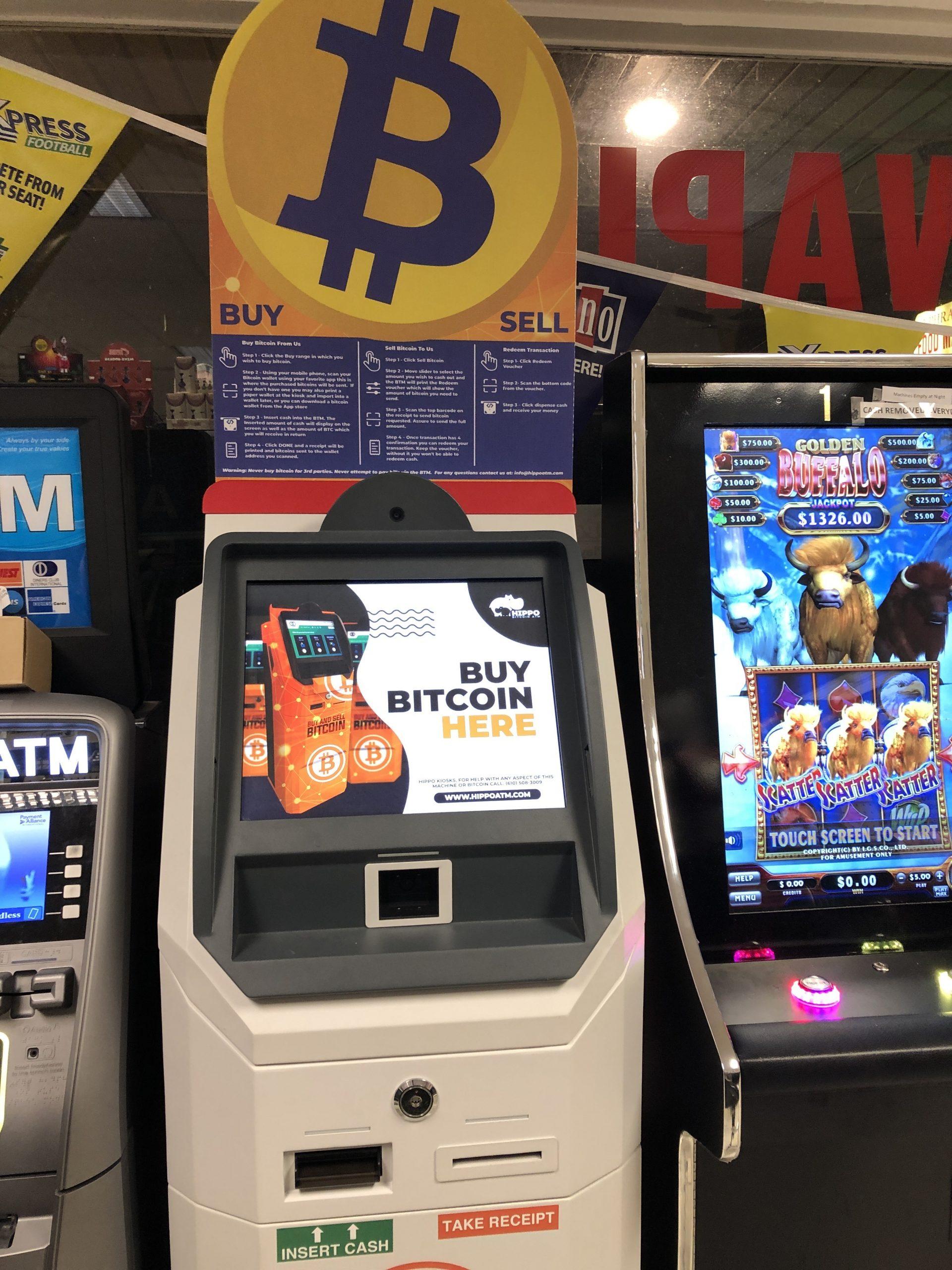 Bitcoin ATM Ephrata Sunoco Gas Station Hippo Kiosks (5)