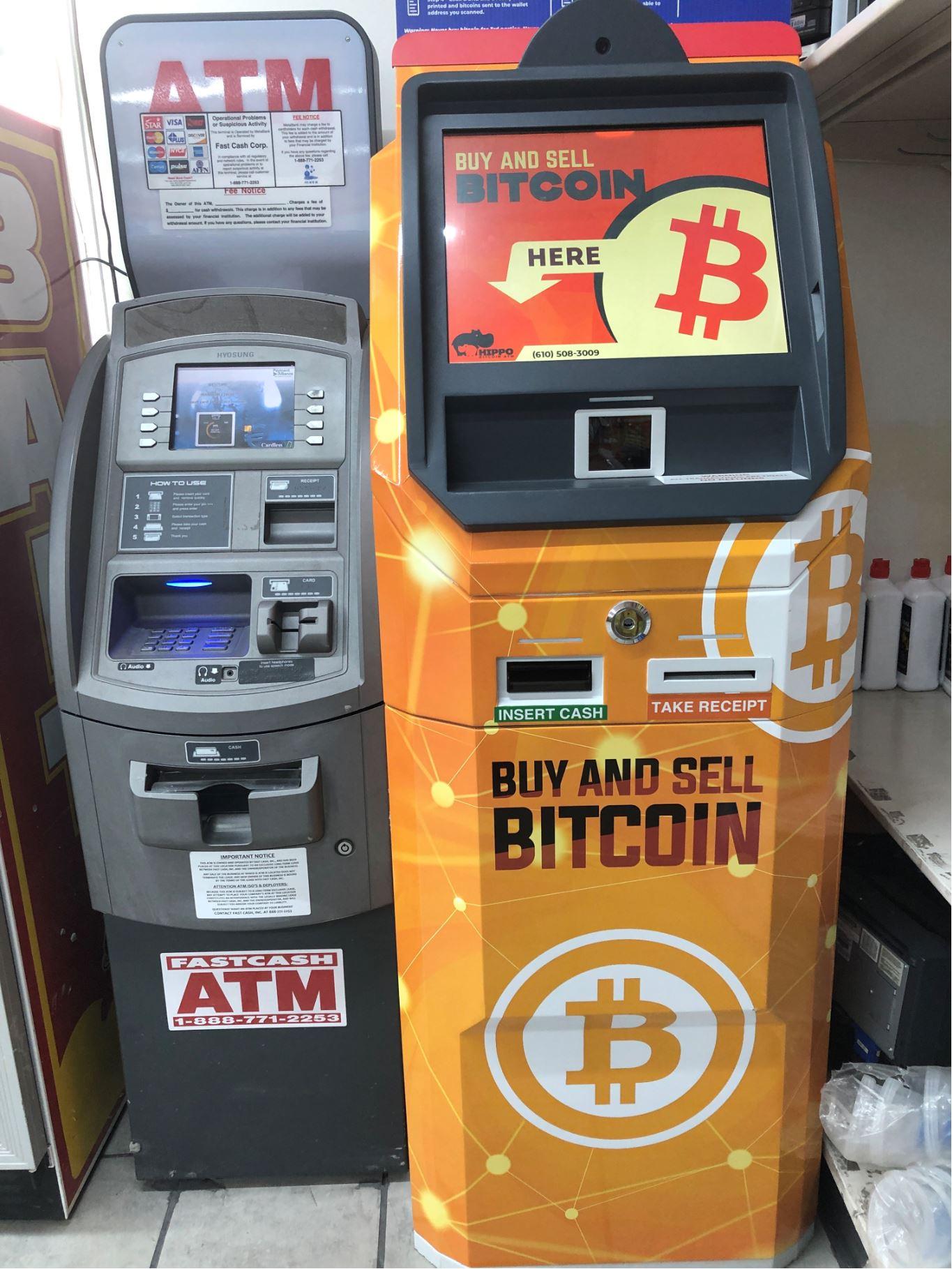 Bitcoin ATM Mannheim PA Hippo ATM Kiosks produced by ChainBytes